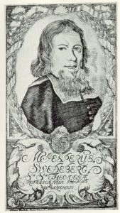 Jesper Swedberg. Engraving from 1700 by Hans Thelott