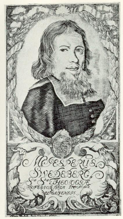 Engraving of Jesper Swedberg