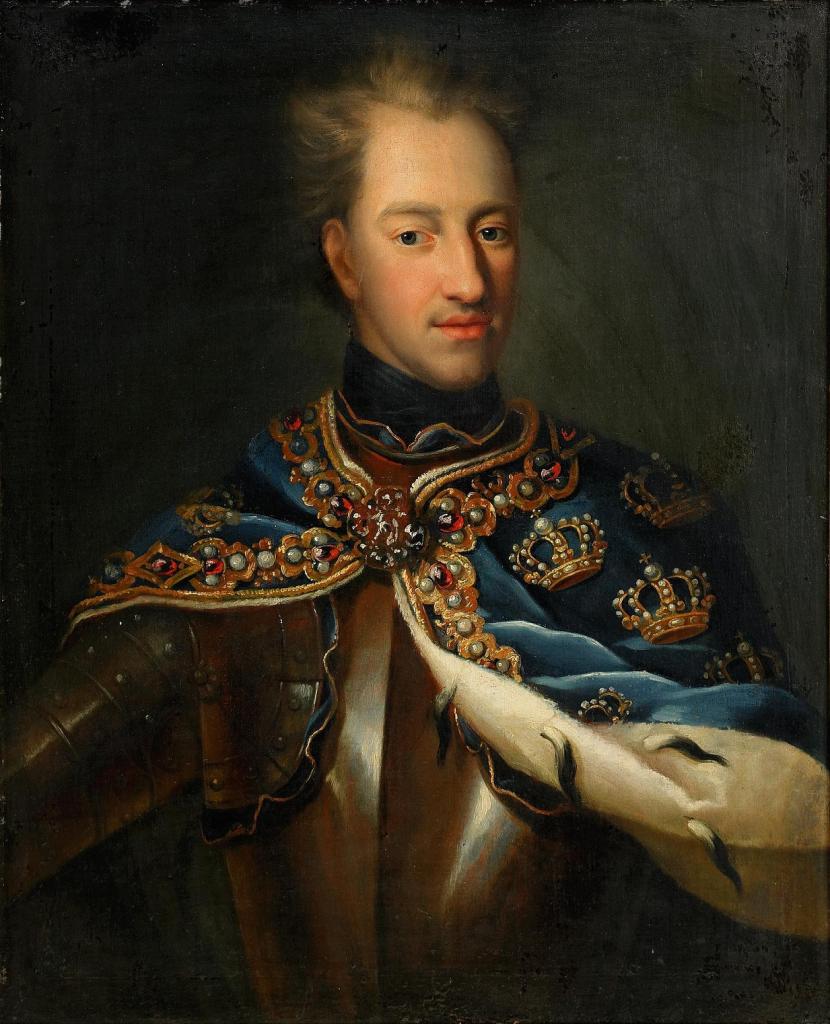 Oil Painting of Karl the Twelfth